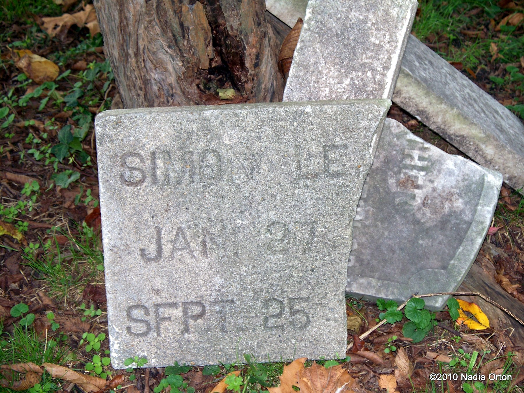 Portsmouth, Virginia: Mystery of the orphan gravestone