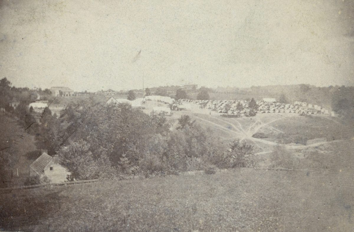 Stories from Evergreen: Sgt. Edmond Carter, 45th U. S. Colored Infantry, Richmond, Virginia