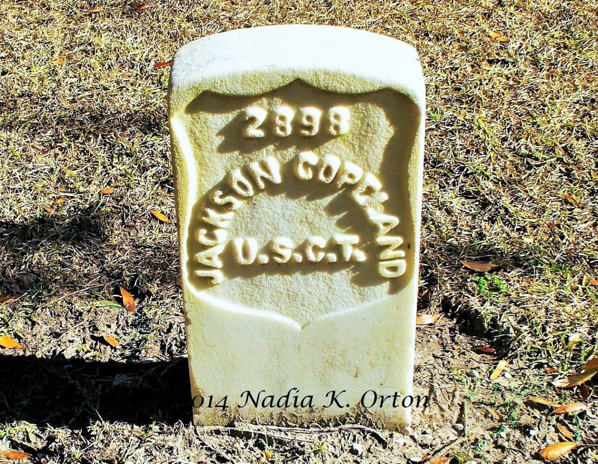 Suffolk, Virginia: Tales from Old Nansemond: Pvt. Jackson Copeland, 26th U. S. Colored Infantry