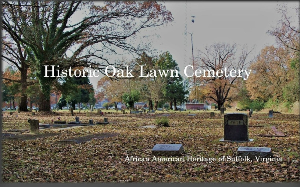 Suffolk, Virginia: Images from Oak Lawn Cemetery, 2011-2020