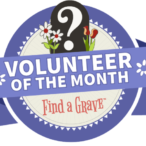 Find-a-Grave Volunteer of the Month